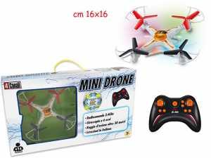 Teorema 64279 Drone X8 Giroscopio 6 Assi 15.5x15.5, Raggio D'Azione Oltre 30 Mt