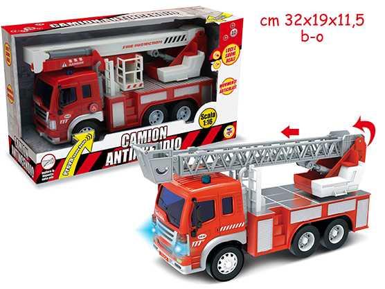 Teorema Giocattoli- Camion Antincendio, Multicolore, 3.TE64135
