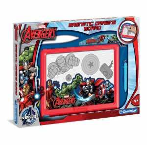 Clementoni 15996 - Lavagna Magnetica Avengers, +4 Anni