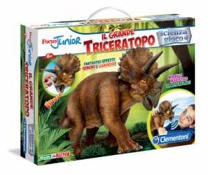 Clementoni 13939 - Focus Junior Il Grande Triceratopo