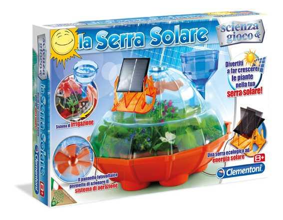 Clementoni 13852 - La Serra Solare Kit Scientifico