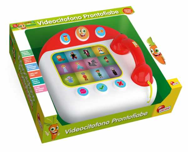 Lisciani Giochi 50482 - Carotina Baby Videocitofono Pronto Fiabe