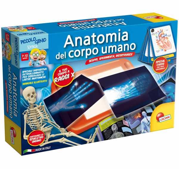 Lisciani Giochi 51779 - Piccolo Genio Anatomia Del Corpo Umano