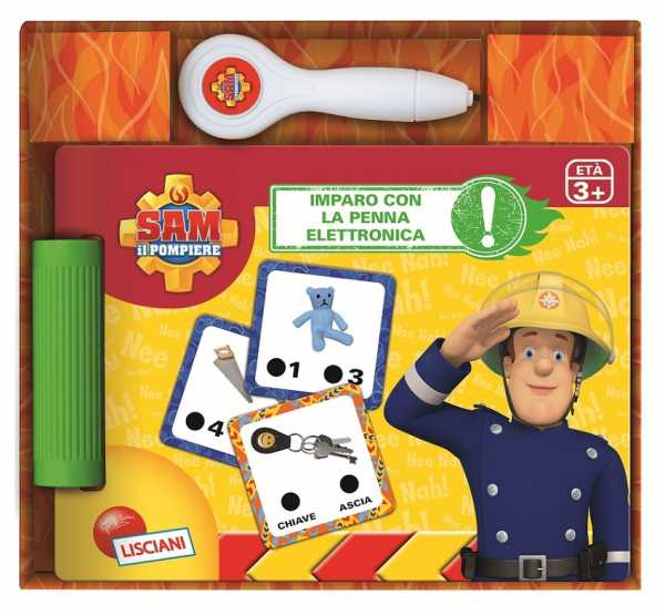 Imparo Con La Penna Elettronica. Sam Il Pompiere. Con Gadget