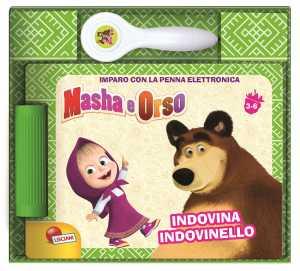Masha E Orso. Libro Quiz Con Penna Elettronica. Con Gadget