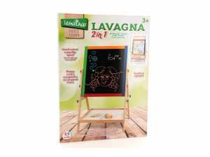 Legnoland Lavagna Legno 2 In 1 Altezza Regolabile Con Gessi, 37326