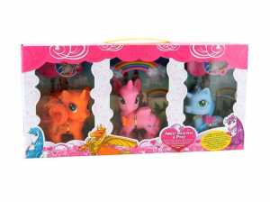 SET PONY Pezzi 3 ACCESSORI - Globo (37391)