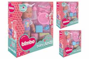 Globo- Cm30 Doll W/Bubble Function W/Acces 3 (37381), Multicolore (1)
