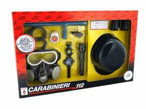 W'TOY 37395 - Set Gioco Carabinieri Con Elmetto/Accessori