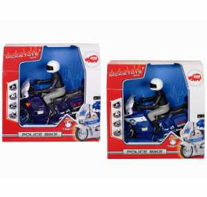 Simba 203712004009 Dickie Moto Polizia/carabinieri Cm.15 L&s 2 Asst