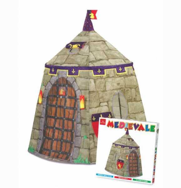Dal Negro 53795 - Tenda Medievale, 125 X 126 Cm