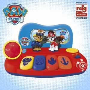 Grandi Giochi GG00883 - Tastiera Paw Patrol Con Personaggio
