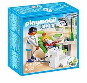 Playmobil 6662 - Dentista City Life Con Paziente, Multicolore