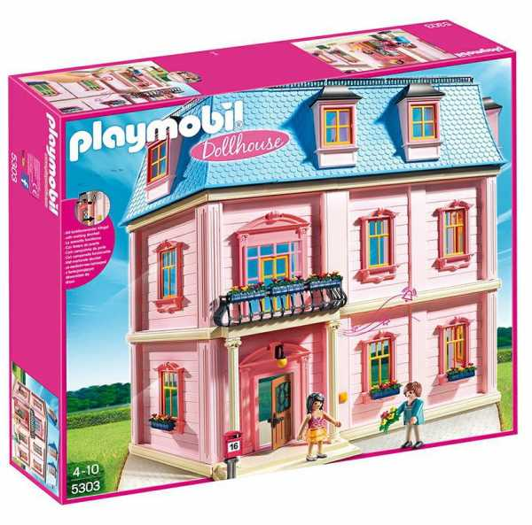 Playmobil 5303 - Casa Romantica Delle Bambole, 2 Pezzi