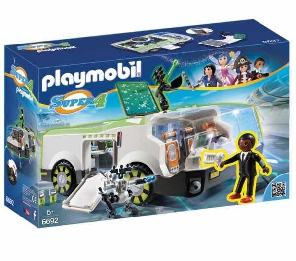 Playmobil 6692 - Il Camaleonte Con Agente Gene, 1 Pezzo