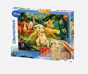 Puzzle 3d E Occhialini 6 Soggetti - Clementoni ()