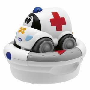 Chicco 69026 Charge And Drive Macchinina Telecomandata, Ambulanza