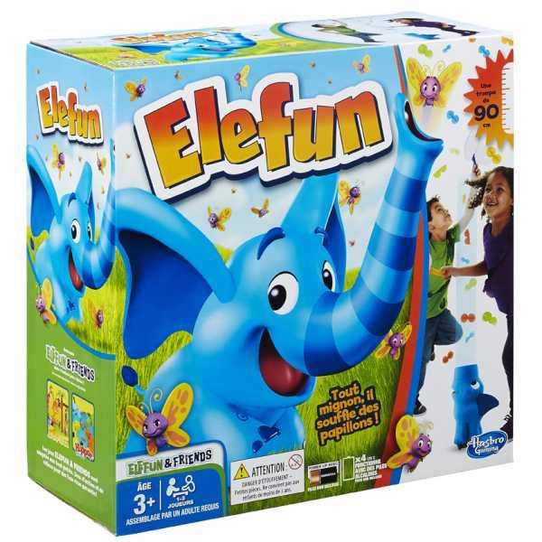 Hasbro Gaming - Elefun Versione 2018 (Gioco In Scatola), B7714103
