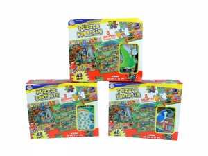 Puzzle Soffice Pezzi 48 69x76 Cm - Globo (35983)