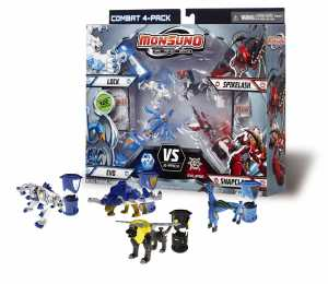 Monsuno Battle Pack 4 Pezzi Assortimento 1