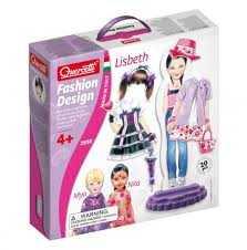 Quercetti 02930 - Gioco Fashion Design Lisbeth