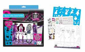Monster High Fashion Book Grande - Grandi Giochi (Fa64002)