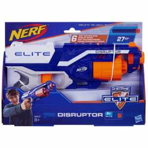 NERF DISRUPTOR 6 DARDI 27M - Hasbro (B9837eu4)