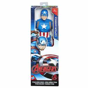 Avengers Titan Hero Personaggio Captain America, 30 Cm