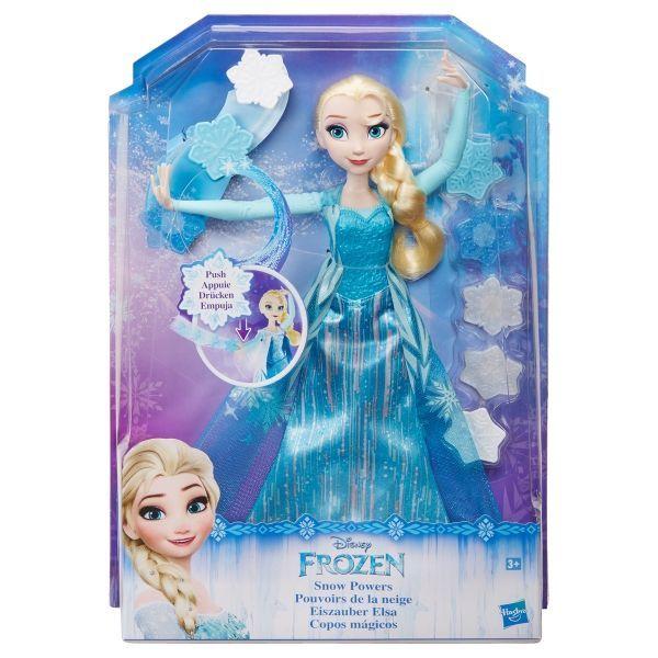 Disney Frozen B9204EU4 - Bambola Elsa Lancia Cristalli Di Ghiaccio