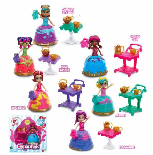 Giochi Preziosi Cuppatinis Mini Doll C/Acc.