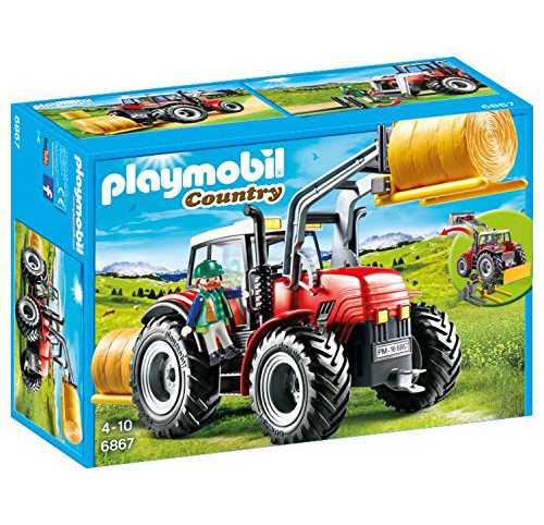 Playmobil 6867 - Grande Trattore, Multicolore