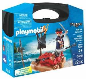 Play Mobil 5655 Valigetta Con Zattera Del Pirata
