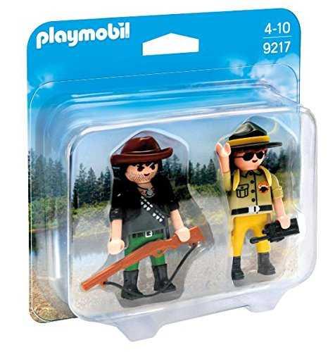 Playmobil 9217 - Ranger E Bracconiere, Multicolore
