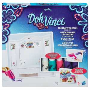 DOH VINCI DECORATIVE STICKERS - Hasbro (B6999eu4)