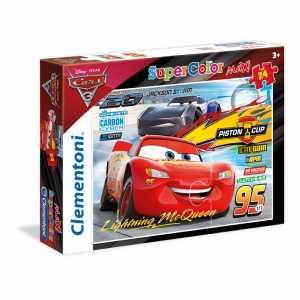 PUZZLE 24 Pezzi MAXI CARS 3 - Clementoni (24489)