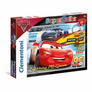 Clementoni 26973 - Puzzle Cars 3, 60 Pezzi