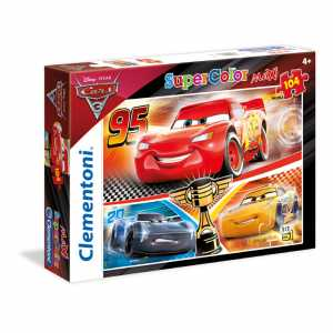 Clementoni 23706 - Maxi Puzzle Cars 3, 104 Pezzi