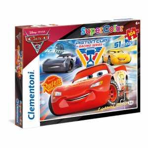 Clementoni 27072 - Puzzle Cars 3, 104 Pezzi