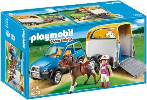 PLAYMOBIL 5223 - SUV CON RIMORCHIO
