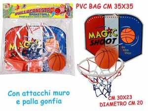 GIOCO BLM CANESTRO BASKET C/P CM20 61929