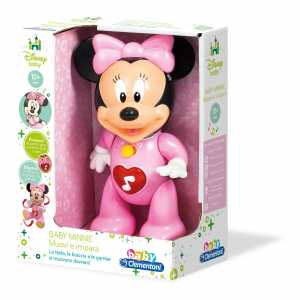 Clementoni 14896 - Baby Minnie Muovi E Impara, Età +10 Mesi