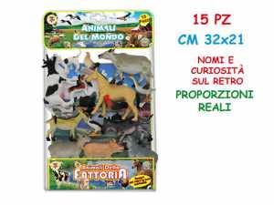 GIOCO BSA ANIMALI FATTORIA PZ.15 72204