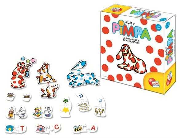 Liscianigiochi 37612 - Pimpa Raccolta Di Giochi Educativi