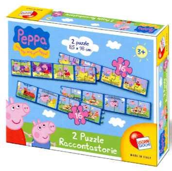 Liscianigiochi 41862 Peppa Pig Puzzle Raccontastorie