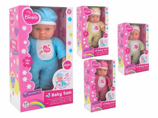 Globo Toys, 35977, 4 Bambole Che Piangono Assortite, Da 28 Cm, Con 6 Suoni28cm
