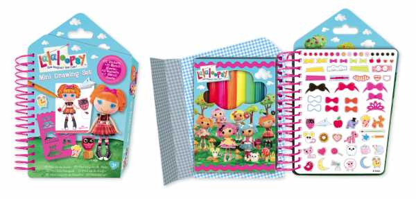 Fashion Angel FA52524 - Lalaloopsy Mini Set Da Disegno