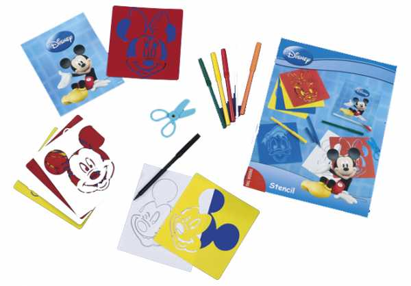 Dal Negro 57254 - Mickey And Friends Stencil, Disney