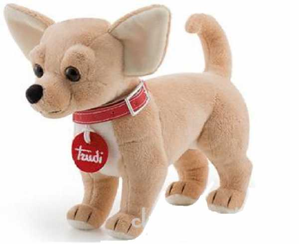 Trudi 22046 - Chihuahua, Colore Beige, 20 Cm