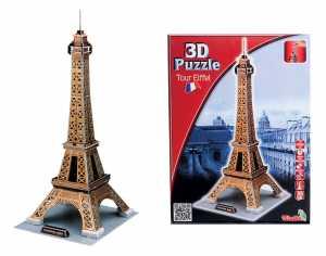 Simba 106137297 - Torre Eiffel, Puzzle 3D