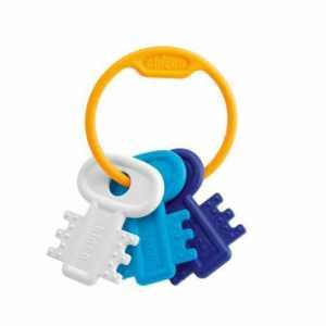 Chicco 63216200000 - Giocattolo Prima Infanzia, Chiavi, Colore: Blu